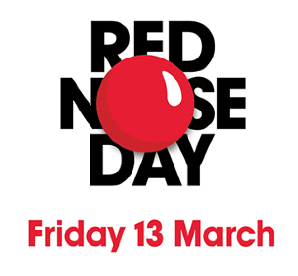 Red Nose Day Friday 13 March