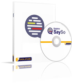 Image of SaySo CD and packaging