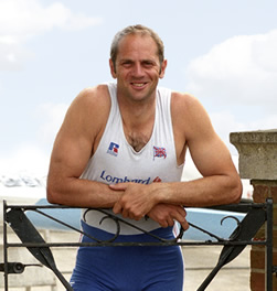A photo of Sir Steve Redgrave