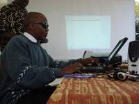 Photo of Assistive Technology for Visually Impaired Learners pilot project in Kenya