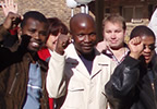 Photo of students in Pretoria, South Africa on a training course for the Dolphin Pen
