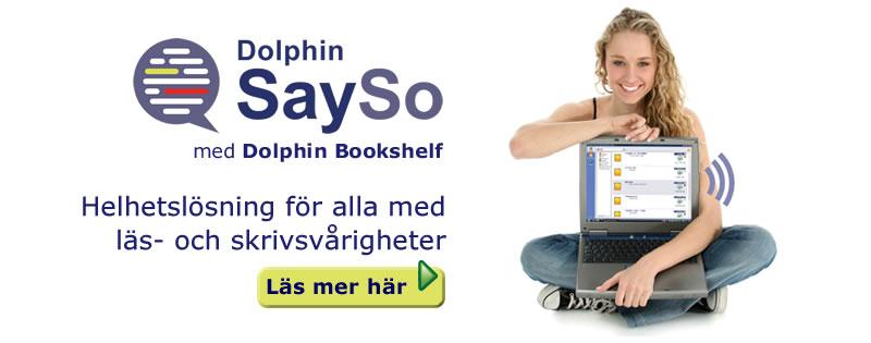 Dolphin Bookshelf - Helhetsl�sning f�r alla med l�s- och skrivsv�righeter