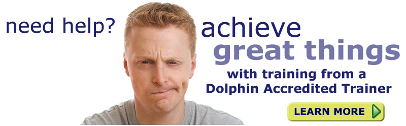 click to find out more about Dolphin Accredited Trainers